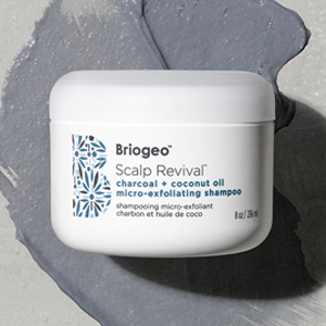Briogeo 木炭椰油去角质头皮护理膏,头皮头发变得平衡健康