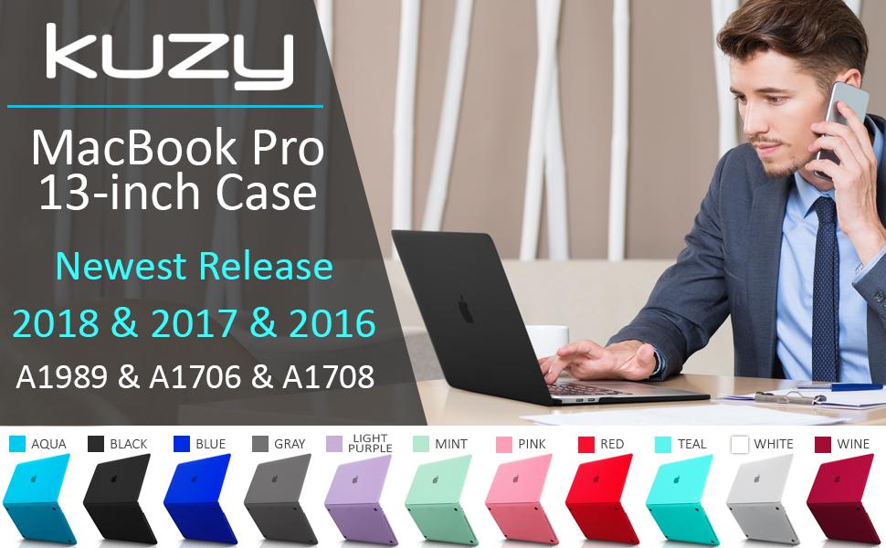 macbook pro 13 inch case Best macbook pro case 13 inch macbook pro case Black Touch Bar A1989 A1706