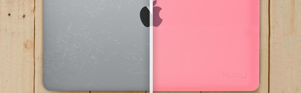Pink macbook pro 13 inch case for everyone day nigh sticker seethru version 13 inch macbook pro case