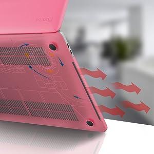 13 inch macbook pro case 2018 Touch Bar macbook pro 13 inch case Pink Soft Purple Light plastic case