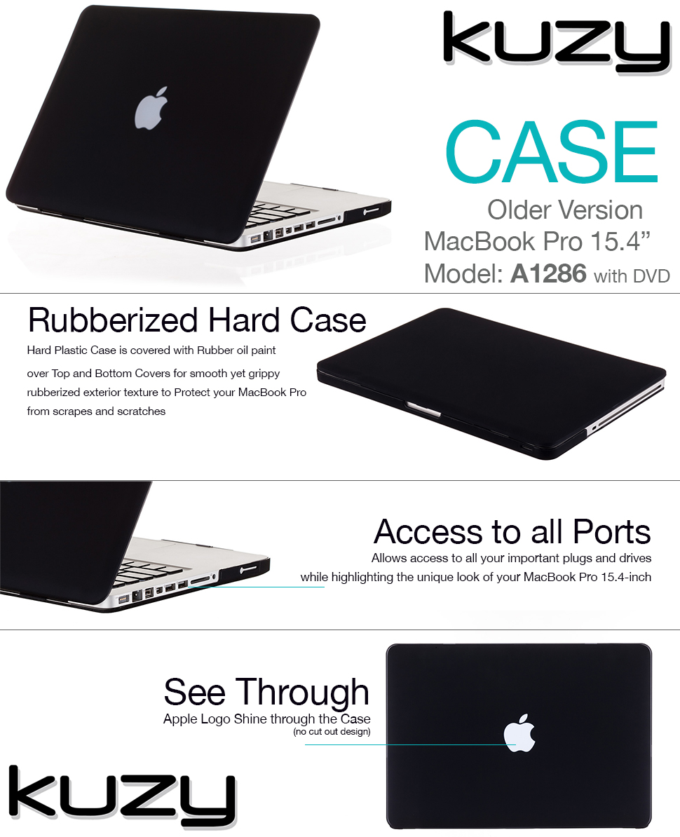 Hard Case for Old MacBook Pro 15