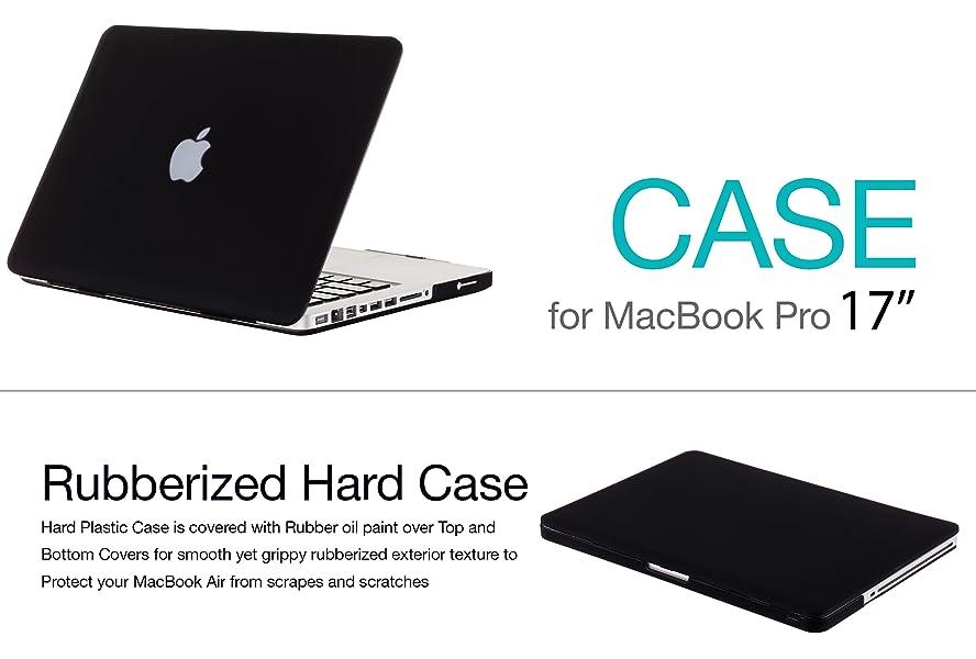 sale retailer 07814 648b4 Kuzy - 17-inch Soft-Touch Hard Case for MacBook Pro 17