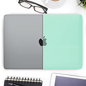macbook pro 13 inch case mint green cases for students macbook pro 13 case leather sleeve shell case