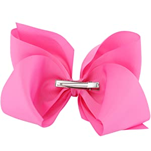 big 8 inches hair bows for grosgrain boutique