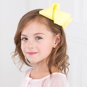 Amazon Com 4 5 Inch Hair Bows Grosgrain Ribbon Boutique Hair Bow
