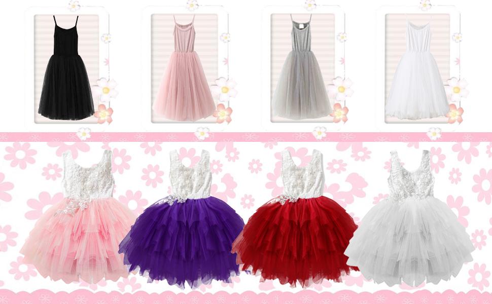 1f45223d4989e GSVIBK Baby Girls Tutu Dresses Toddler Infant Tulle Dress Long Sleeve Tutu  Dress Princess Party Dresses