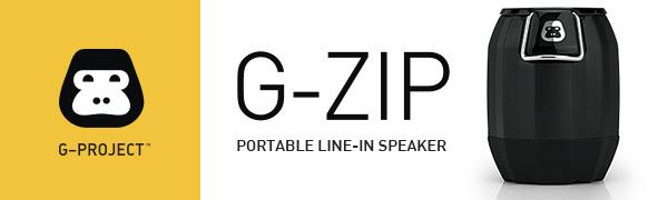 Amazon com: G-Project G-Zip Mini Portable Line-in Wired