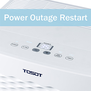 TOSOT Dehumidifier Power Outage Restart