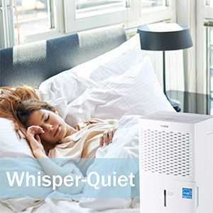 TOSOT Dehumidifier whisper quiet operation