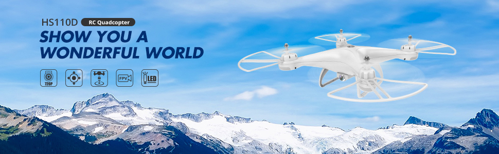 HS110D Drone with Camera