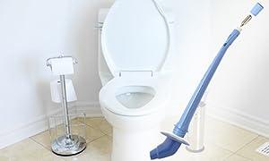 amazon com sureplunge automatic toilet plunger amazing co2 power