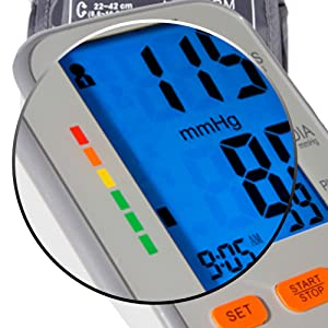 Blood Pressure Monitor Heartbeat