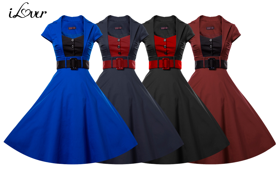 Its great vintage dress for daily casual, formal party, dating, banquet, special occasion and so on