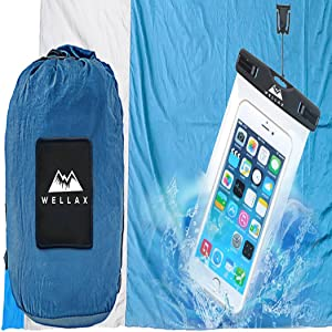 beach blanket with carry bag for 7 adults sandfree water-repellent gift for kids grandkids party