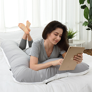 body pillow u shaped