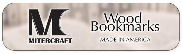 Mitercraft Wood Bookmarks