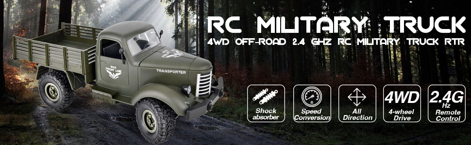 RC Military Vehicle