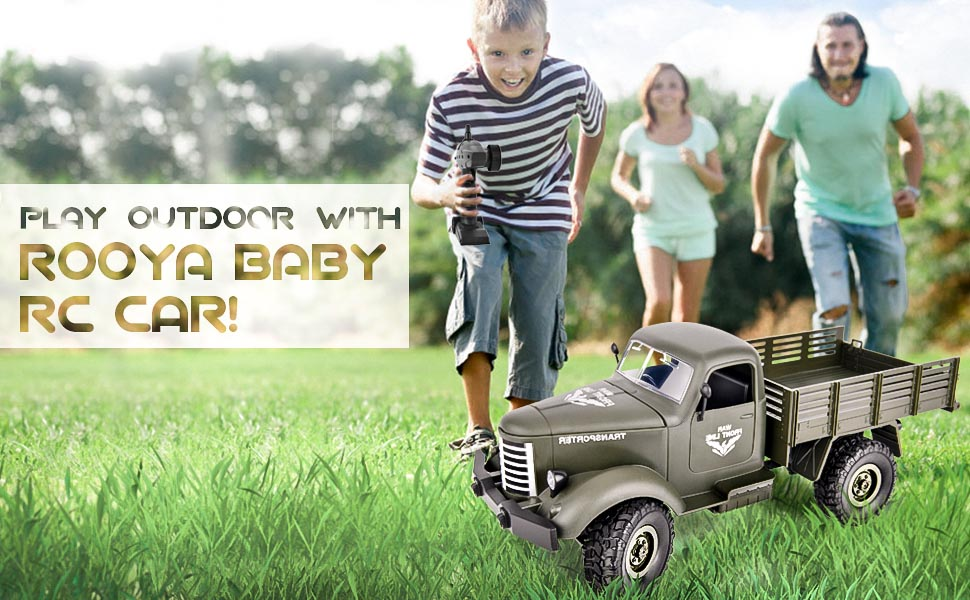 remote control army toy car