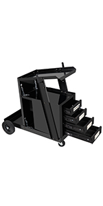 Welding Cart with 4 Draws