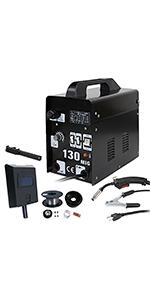 ZENY Arc Welding Machine DC Inverter Handheld Welder MMA 20-160A ...