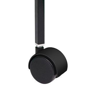 4 strong swivel casters mobility and stability