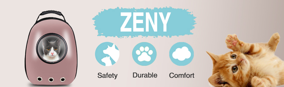ZENY Pet Carrier Backpack