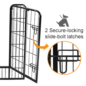 2 Secure-locking latches