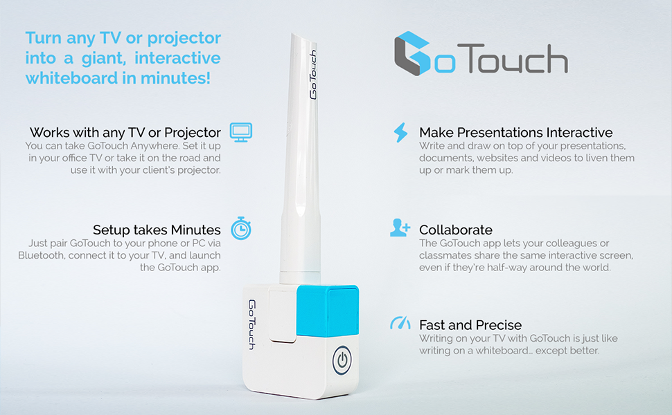 GoTouch Basic 3 0 Turn Any Screen to an Interactive Digital Whiteboard