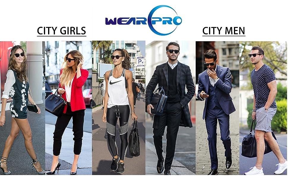 3e9f92ad2c Amazon.com  Mens Sunglasses for Men -wearpro Retro Vintage Polarized ...
