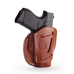 leather glock holster brown