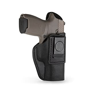 Sig P320c IWB Holster Leather HK P2000  VP9SK Compacts with rails