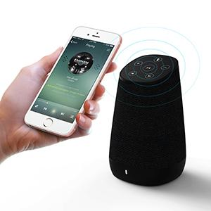 COWIN DiDa Ultra Portable Wireless Bluetooth Speaker with Bluetooth 4.0 Built-in Dual Driver Speakerphone Bluetooth Speakers Touch Control-Black HD Sound and Enhanced Bass