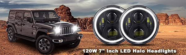 Jeep Wrangler Headlights