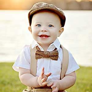kids bow tie navy wedding prop kid outfits ring bearer easter accessories for children apparel