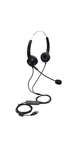Call Center Telephone Headphone