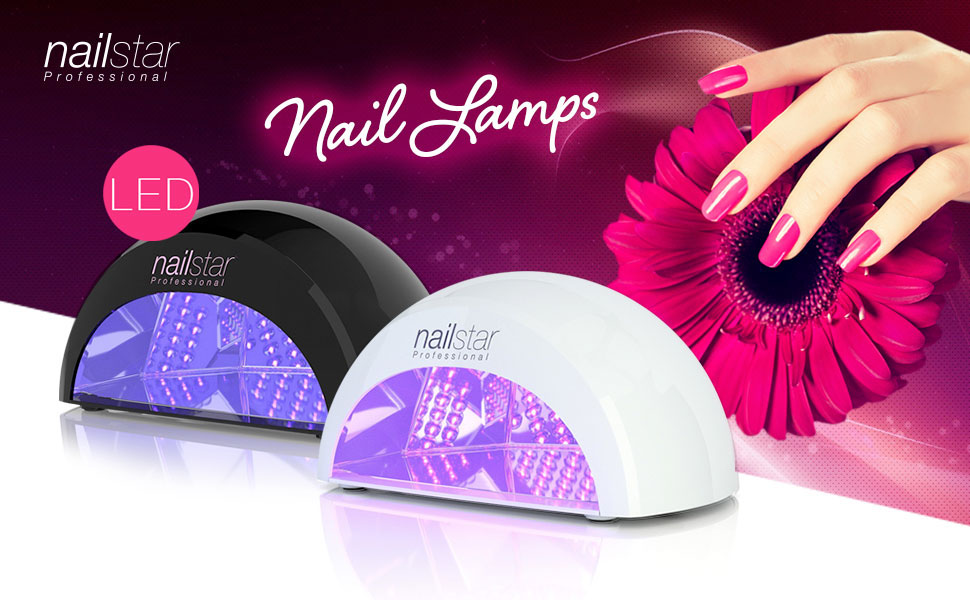 Amazon.com: NailStar Professional LED Nail Dryer Nail Lamp for Gel ...