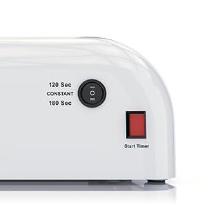 Amazon Com Nailstar Professional 36 Watt Uv Nail Dryer