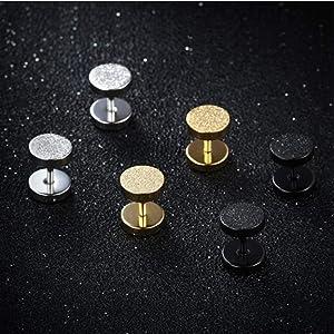 scrub earrings men