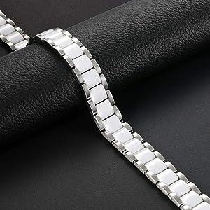 white ceramic bracelet