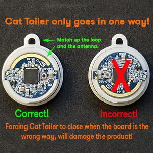 cat tailer board orientation