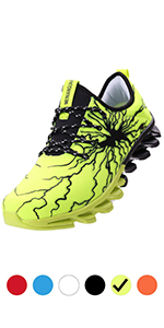DEARWEN Men's Lightweight Outdoor Running Shoes Breathable Blades Shoes for Men Casual Walking Shoes