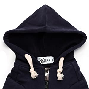 ellie dog wear hoodie