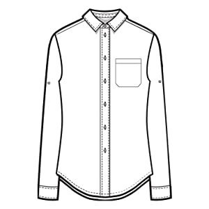 Amazon.com: Camixa - Camisa de lino con botones para mujer ...