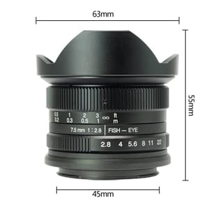 Lens size