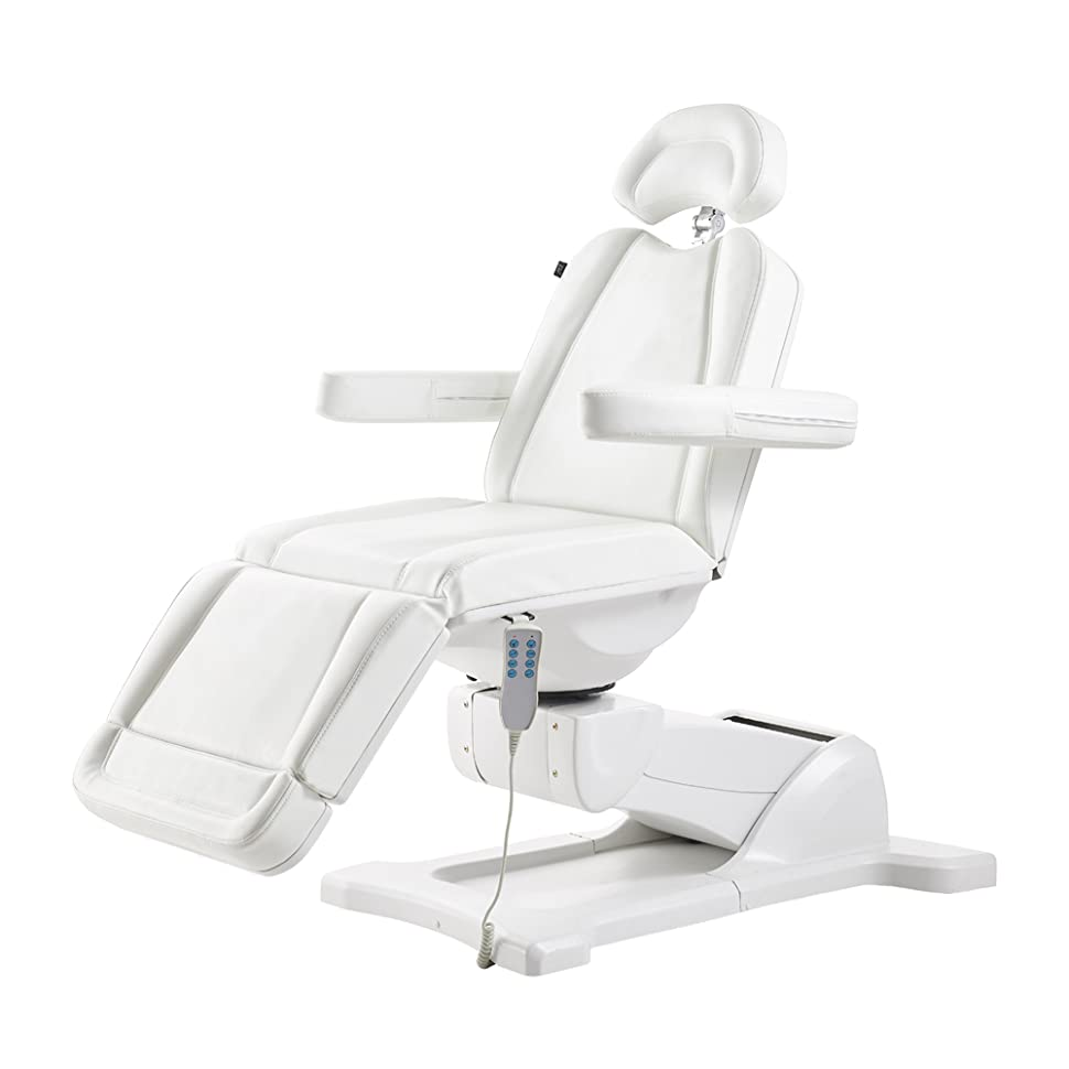 Brilliant Beauty Full Electrical 4 Motor Podiatry Chair Facial Massage Dental Aesthetic Reclining Chair All Purpose Bed Pavo White Bralicious Painted Fabric Chair Ideas Braliciousco