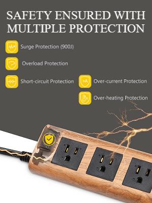 multiple protection power outlet