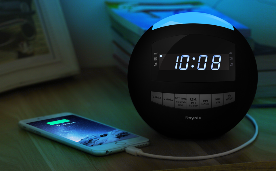 A Premier Bluetooth Alarm Clock Built For The Modern Lifestyle