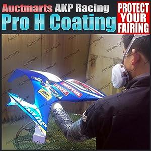 Auctmarts Aftermarket Fairing Bodywork for Honda Suzuki Kawasaki Yamaha ABS Plastic Extra Coating