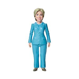 Hillary action figure