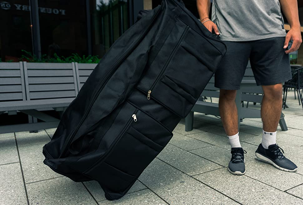 Gothamite 42-inch Rolling Duffle Bag with Wheels